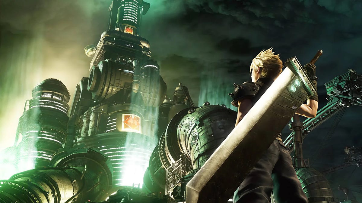 The Week In Games: Cloud And His Big Sword