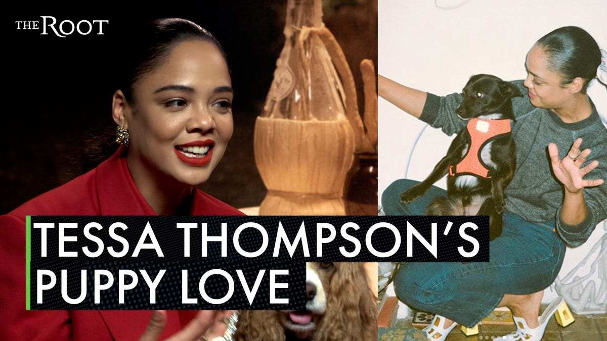 She's a 'Lady': Lady and the Tramp's Tessa Thompson Reflects on How Her Dog, Coltrane, Changed Her Life