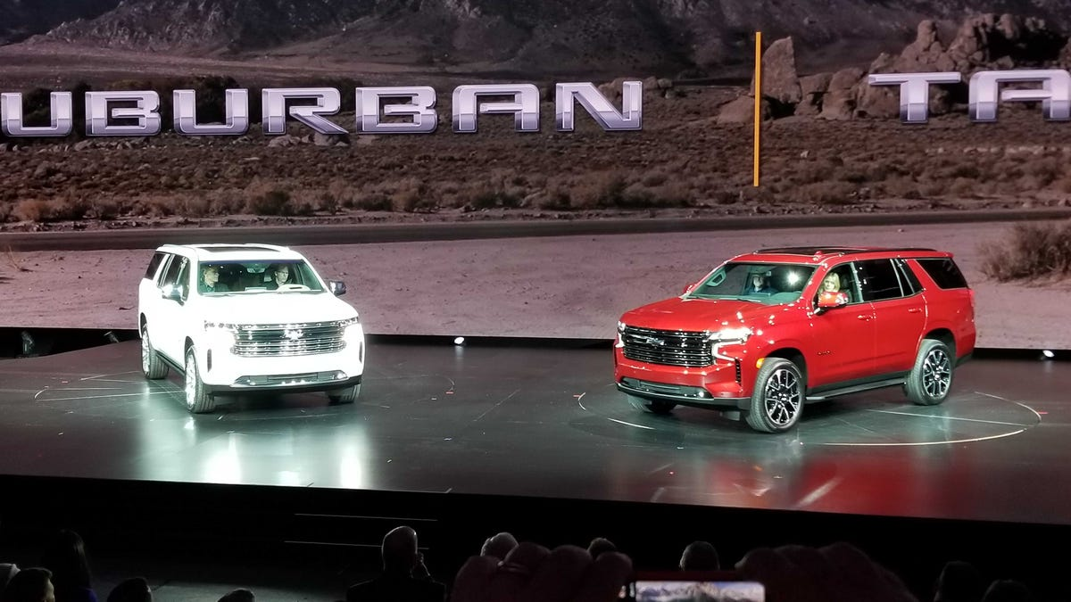 2021 Chevrolet Suburban And 2021 Chevrolet Tahoe: Here They Are