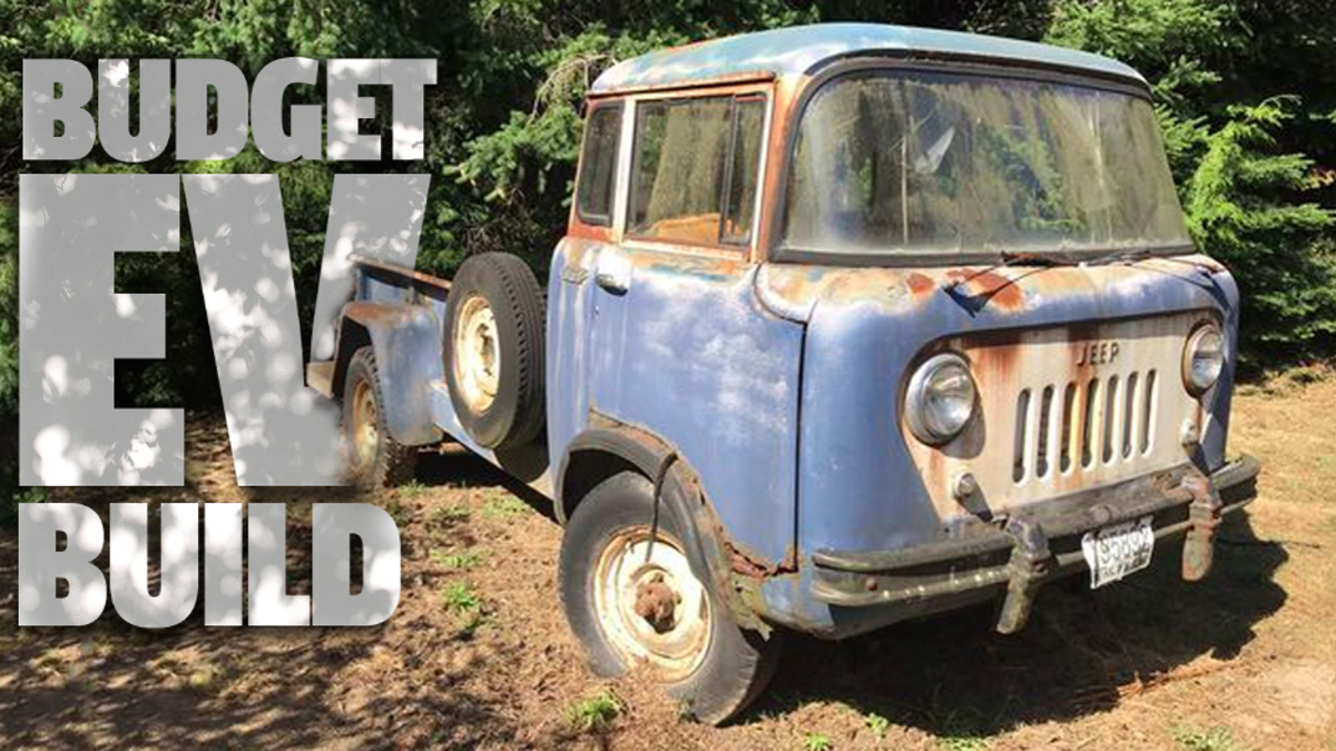 I'm Converting This 1958 Jeep FC-170 Into An Electric Off-Roader But It's Going To Be Brutal