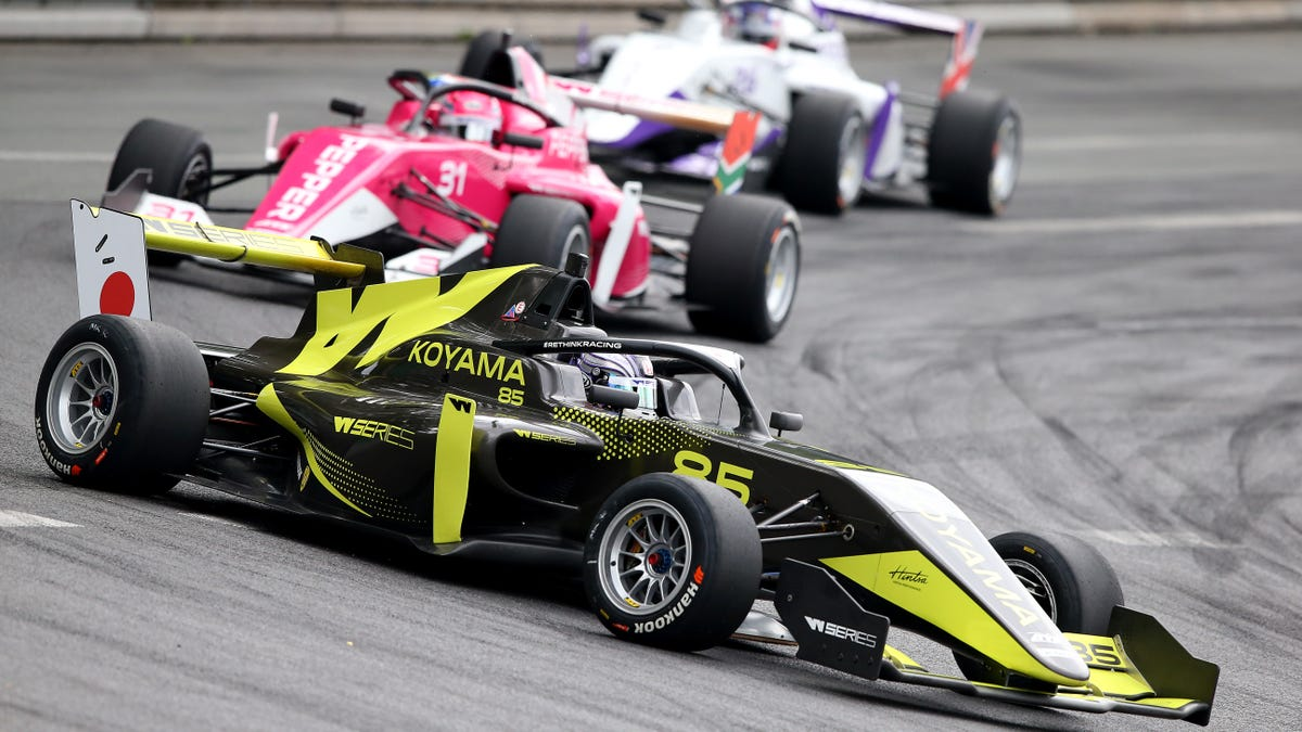 The W Series Might Become Formula One's New Support Series