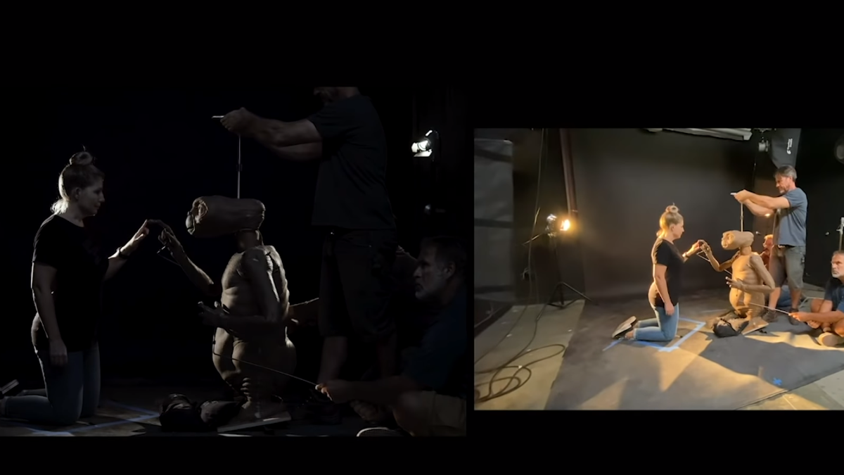 How the Experts at Legacy Effects Brought E.T. Back to Life