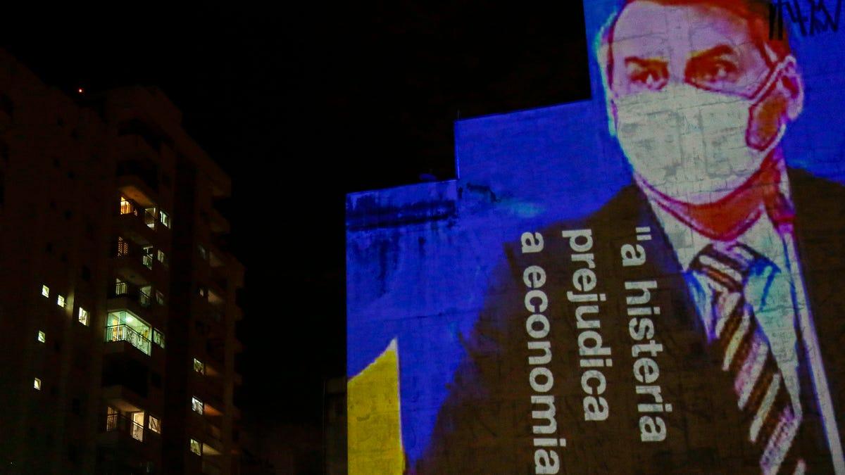 Brazil's Bolsonaro Blames Press for Covid-19 'Hysteria,' Boasts He's Too Fit to Get Sick in Speech