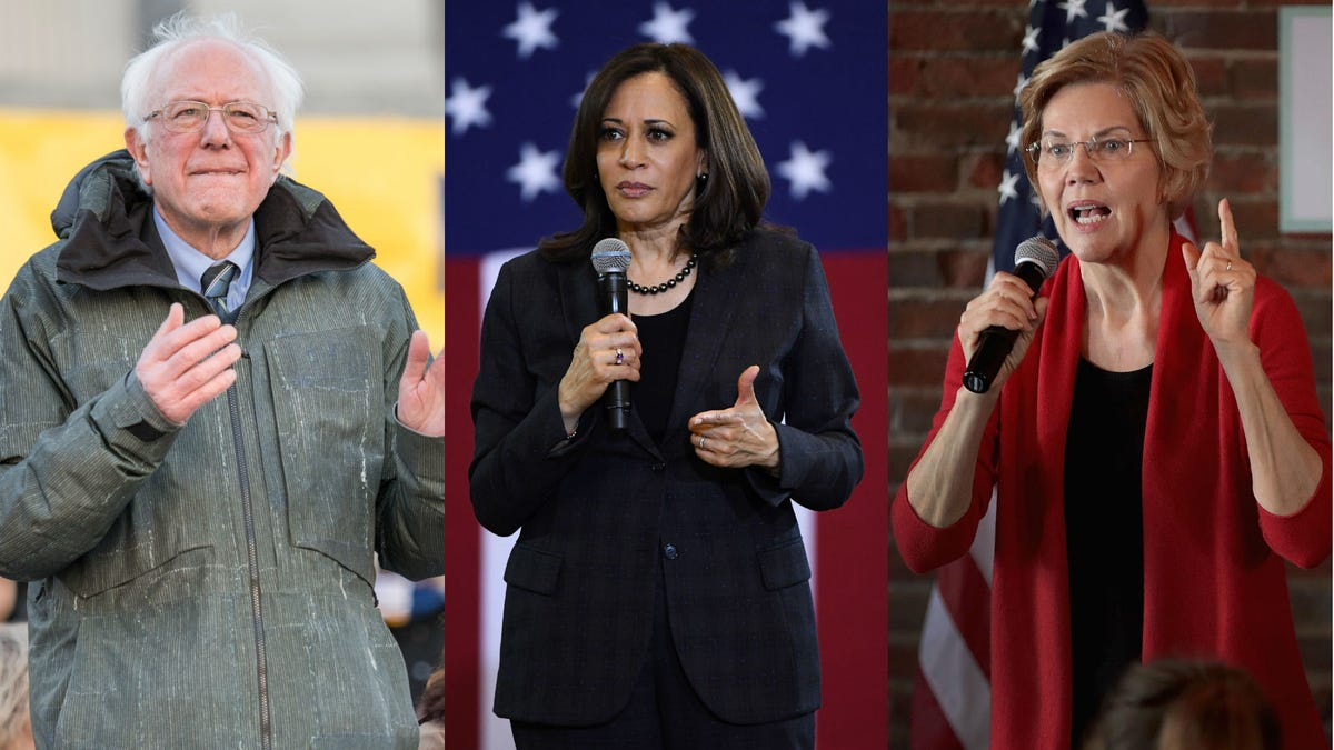 harris  sanders  warren condemn house dems over ilhan omar