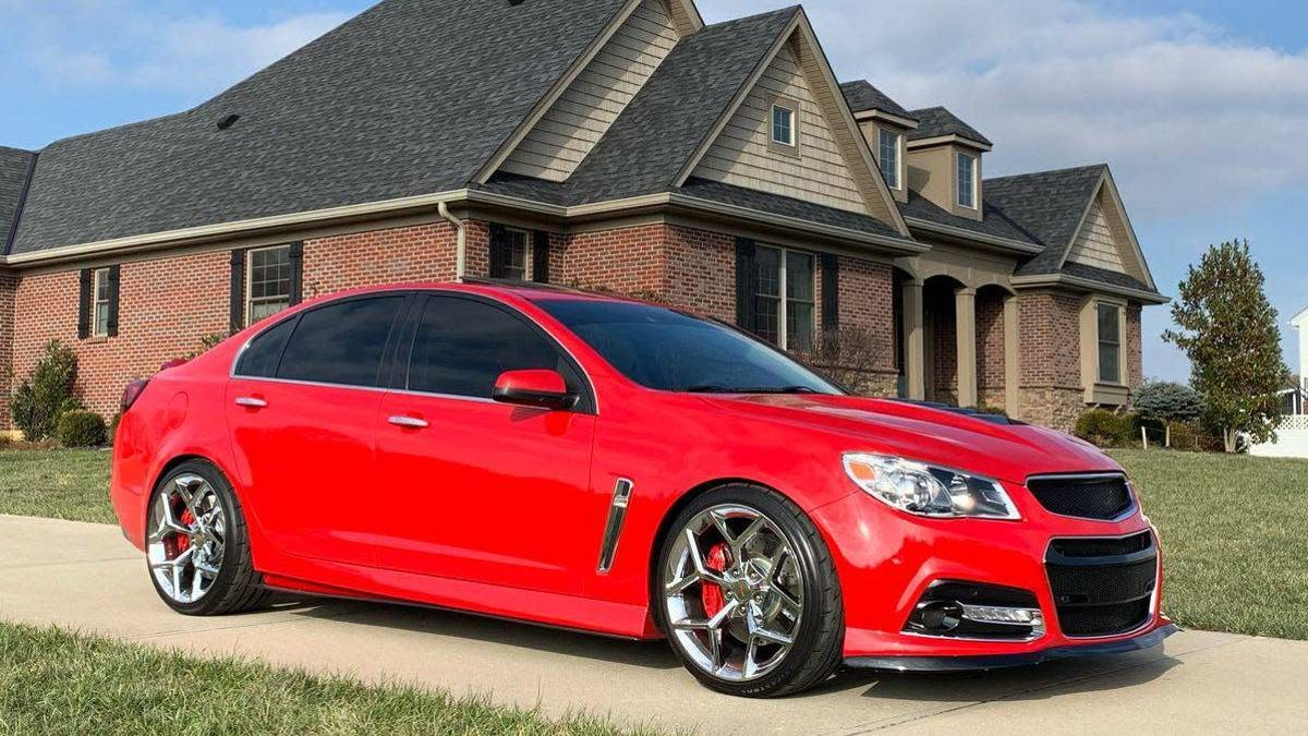 At $29,500, Could This Modded 2014 Chevy SS Finally Find A Receptive Audience?