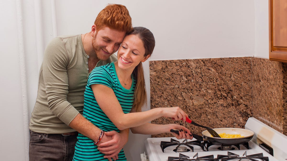 Woman Knows Husband Just Acting Affectionate Because He Wants Food