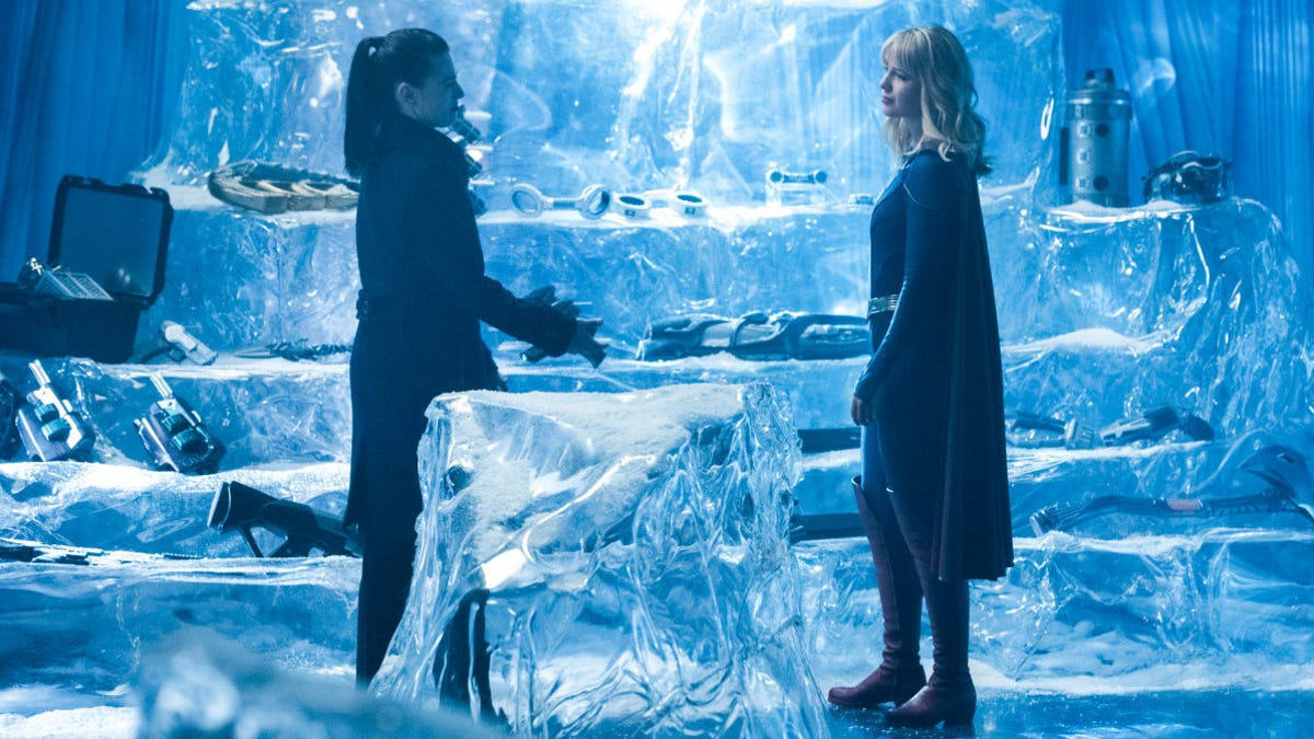 Things get frosty as Supergirl sends Lena and Kara to the Fortress of Solitude