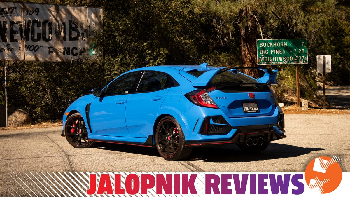 2020 Honda Civic Type R Touring: The Jalopnik Review