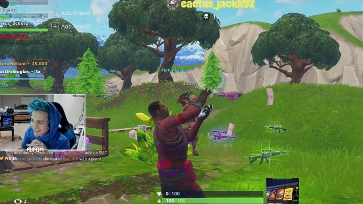 Aftermath Streaming the aftermath of ninja's record-shattering fortnite stream