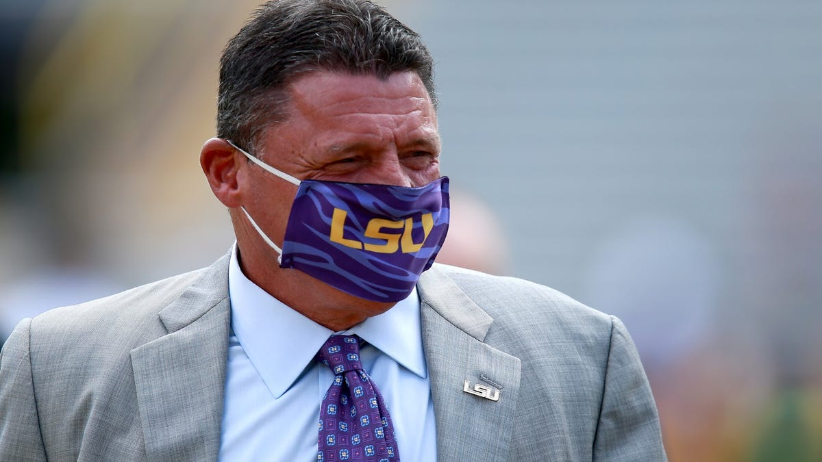 That Cajun accent and 'loveable charm' won't save Ed Orgeron from what's happening at LSU