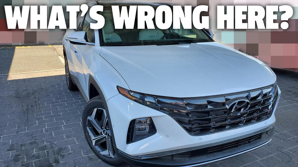 Can You Spot What's Wrong With This Brand New Hyundai Tucson?