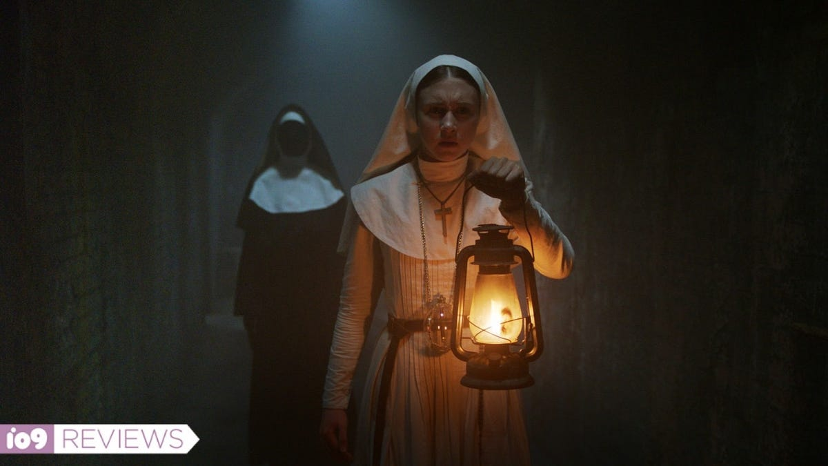 The Nun 2020 Review.The Nun Film Review Conjuring Horror Spinoff Fails To Fright