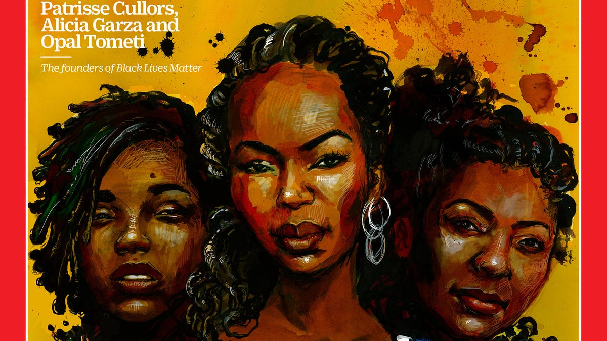 Black Lives Matter Founders Feature on Cover of Time Magazine's 100 Women of the Year Issue
