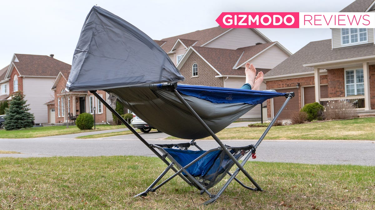 It's Time to Upgrade Your Camping Chair to a Portable Folding Hammock