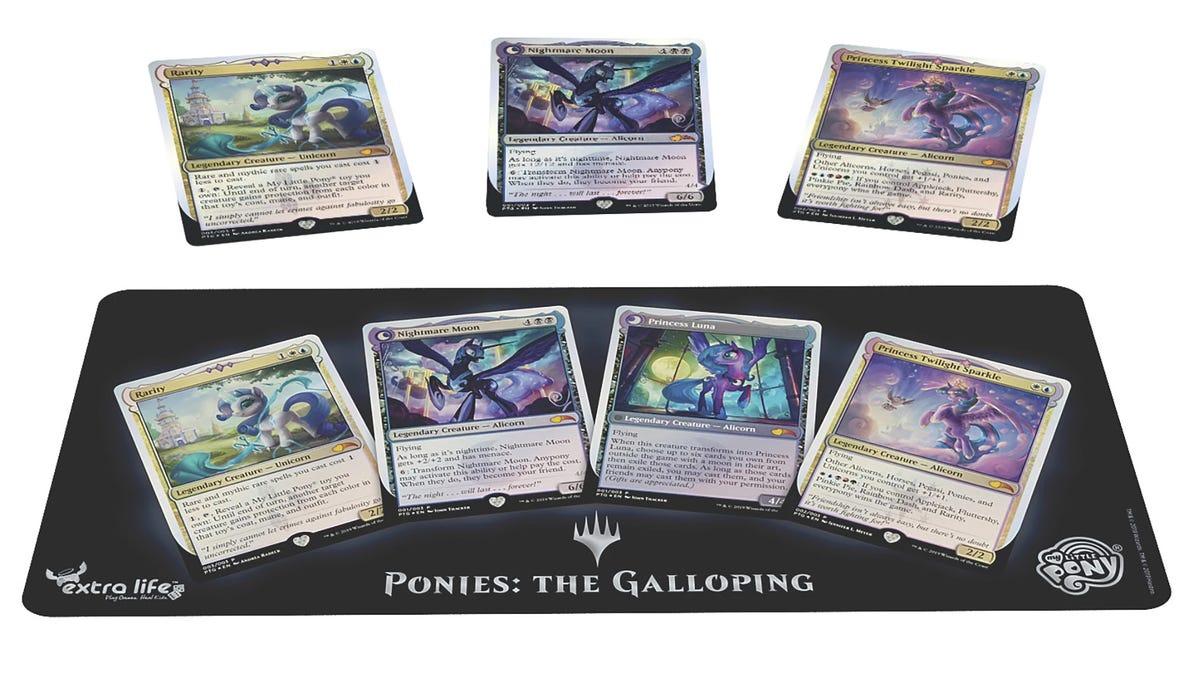 <i>Magic</i> Meets <i>My Little Pony</i> In <i>Ponies: The Galloping</i>