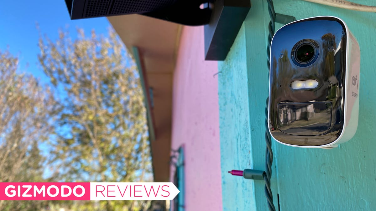 Anker's EufyCam Is Nearly Everything I Want in a Secure Security Camera