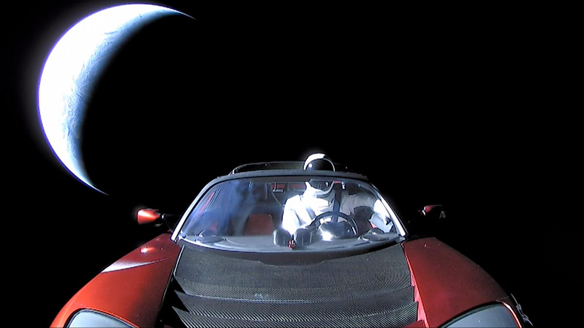 NASA Has Officially Listed Musk's Tesla Roadster As a Celestial Object