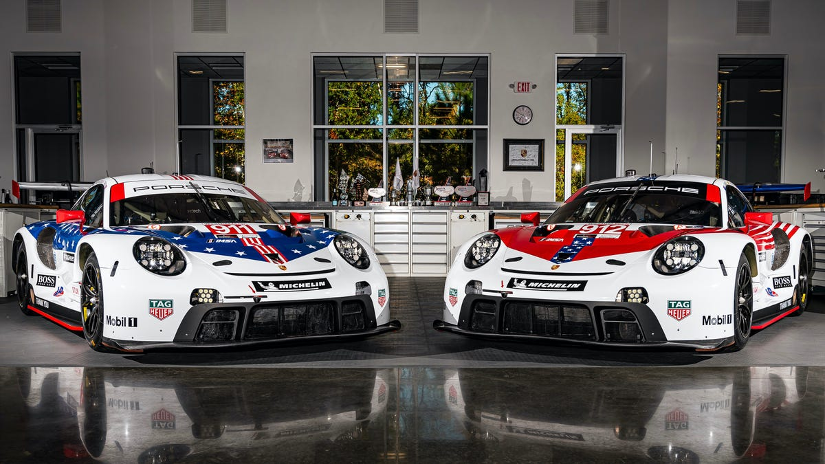 Porsche Motorsport Says Goodbye To IMSA With A Very America Stars And Stripes Livery