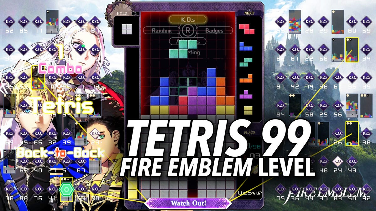 Tetris 99's Fire Emblem Theme Gives It New Energy