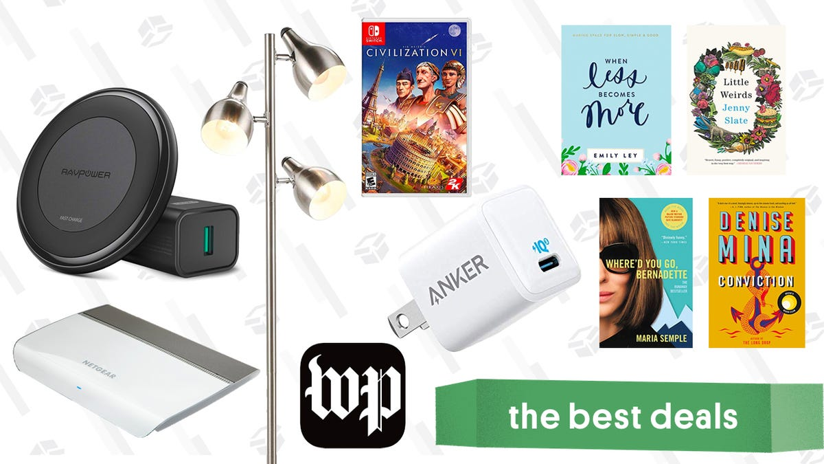 Sunday's Best Deals: Apple AirPods, Anker USB-C Charger, Civilization VI, Kindle Sale, and More