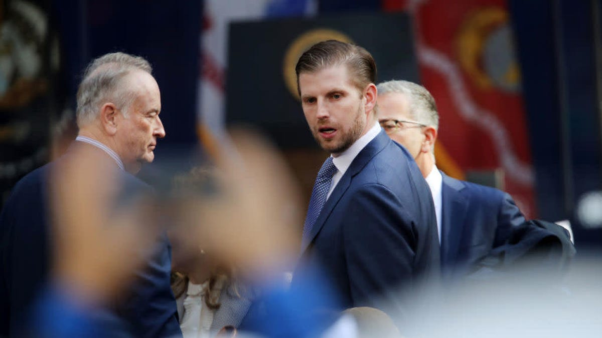 """Eric Trump warns Democrats the """"chips are starting to crumble,"""" confusing everyone"""