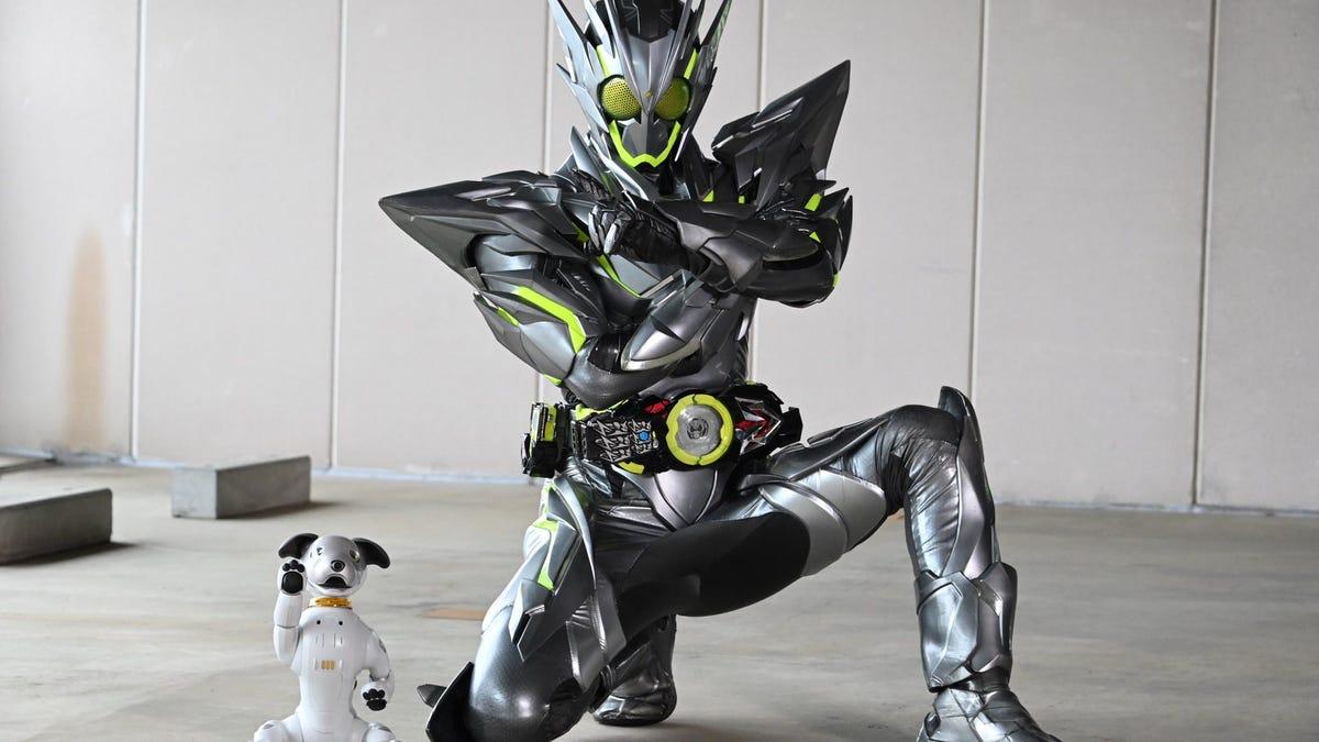 That Kamen Rider's Got a Robot Dog - Gizmodo