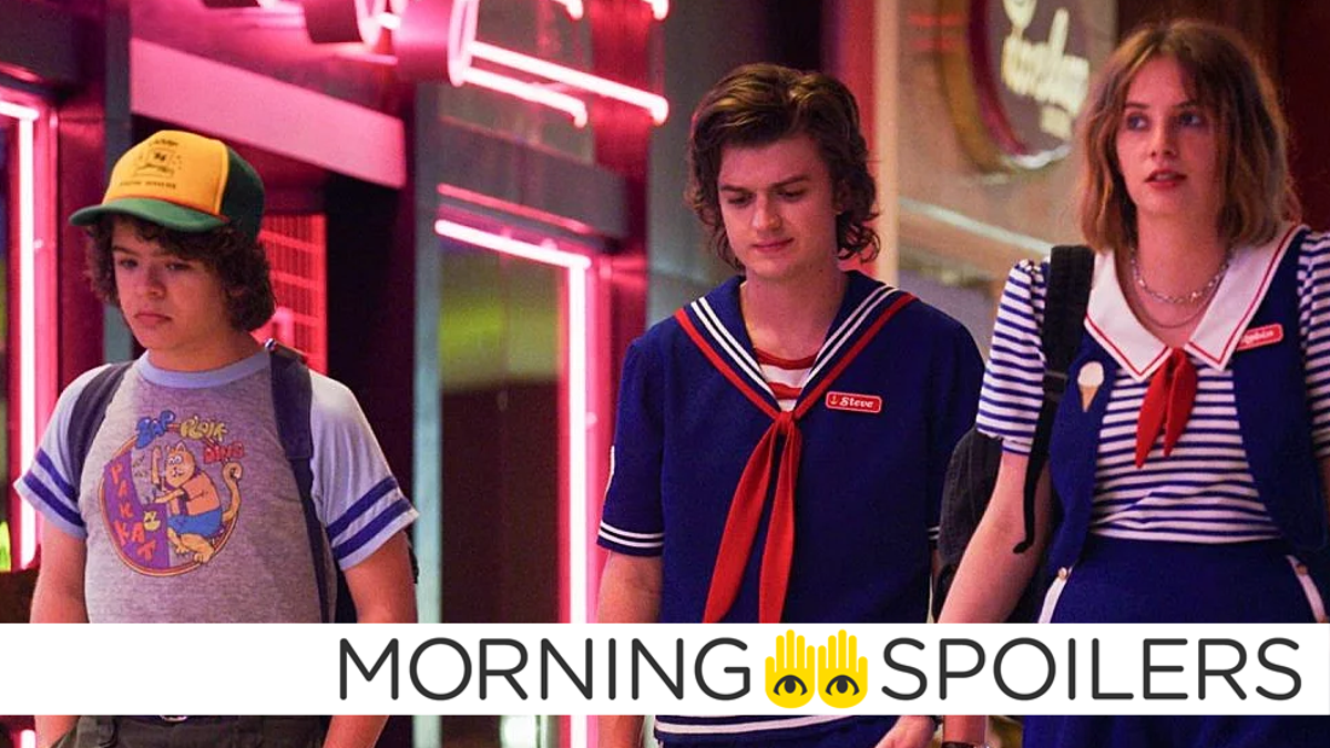 Stranger Things Set Pictures Tease an Intriguing New Character