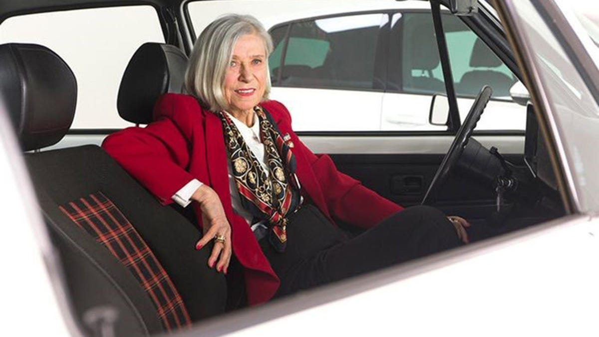 This Is The Woman Who Gave Us The Volkswagen GTI's Golf Ball Shifter And Plaid Seats