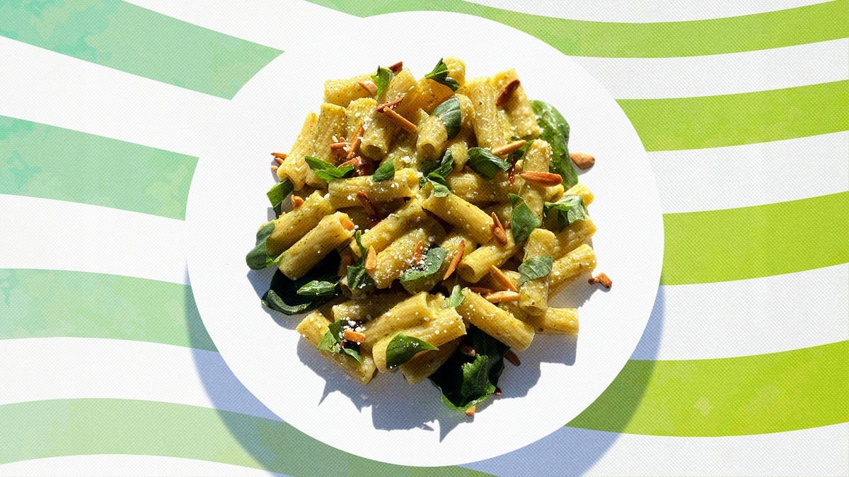 Zucchini Pesto is the key to a perfect summer pasta