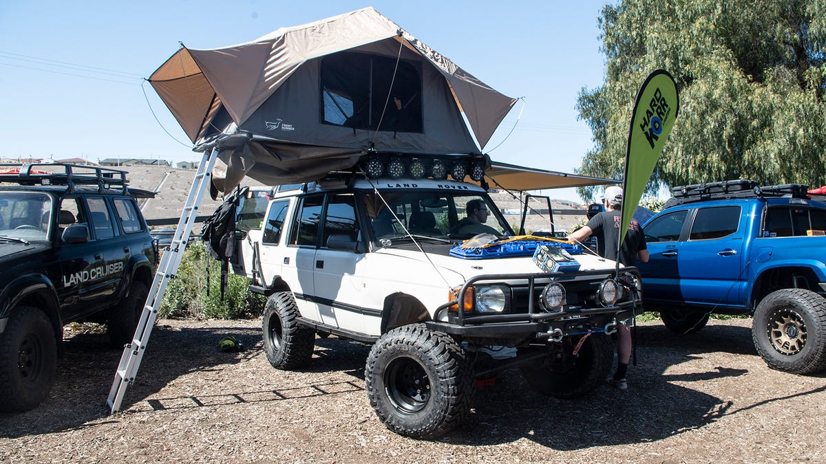 Here S What Stood Out At A Gathering Of Extreme Overland Camping Vehicles