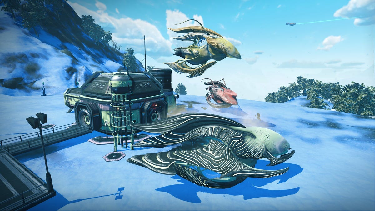 Latest No Man's Sky Update Lets Players Grow Living Spaceships - Kotaku
