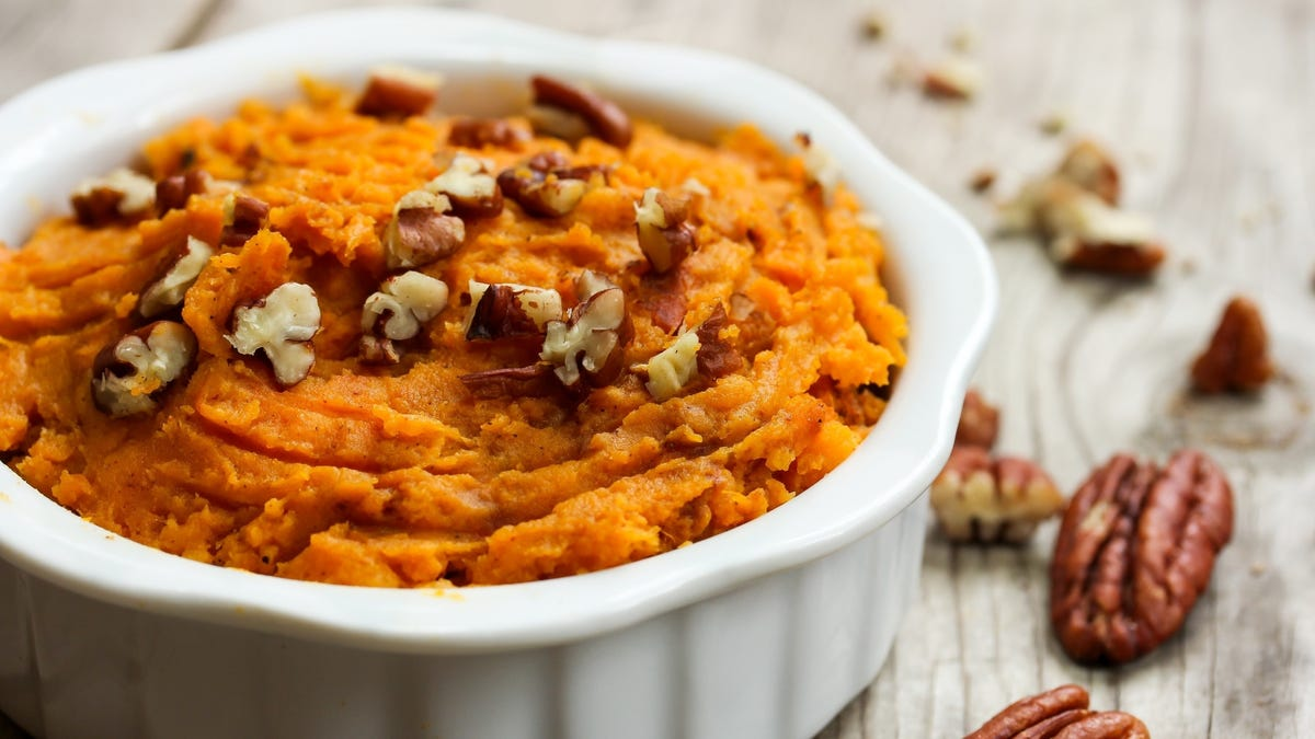 Just Microwave Your Sweet Potatoes