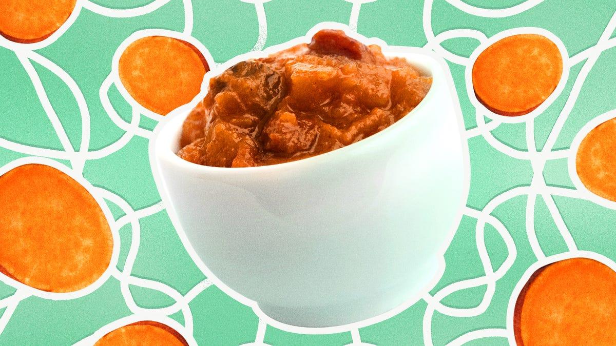 You'll go yam for sweet potato chutney