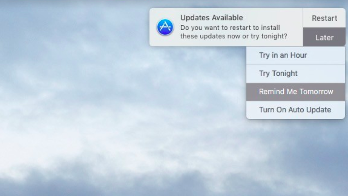 How to Get Rid of Those Annoying Mac Update Notifications