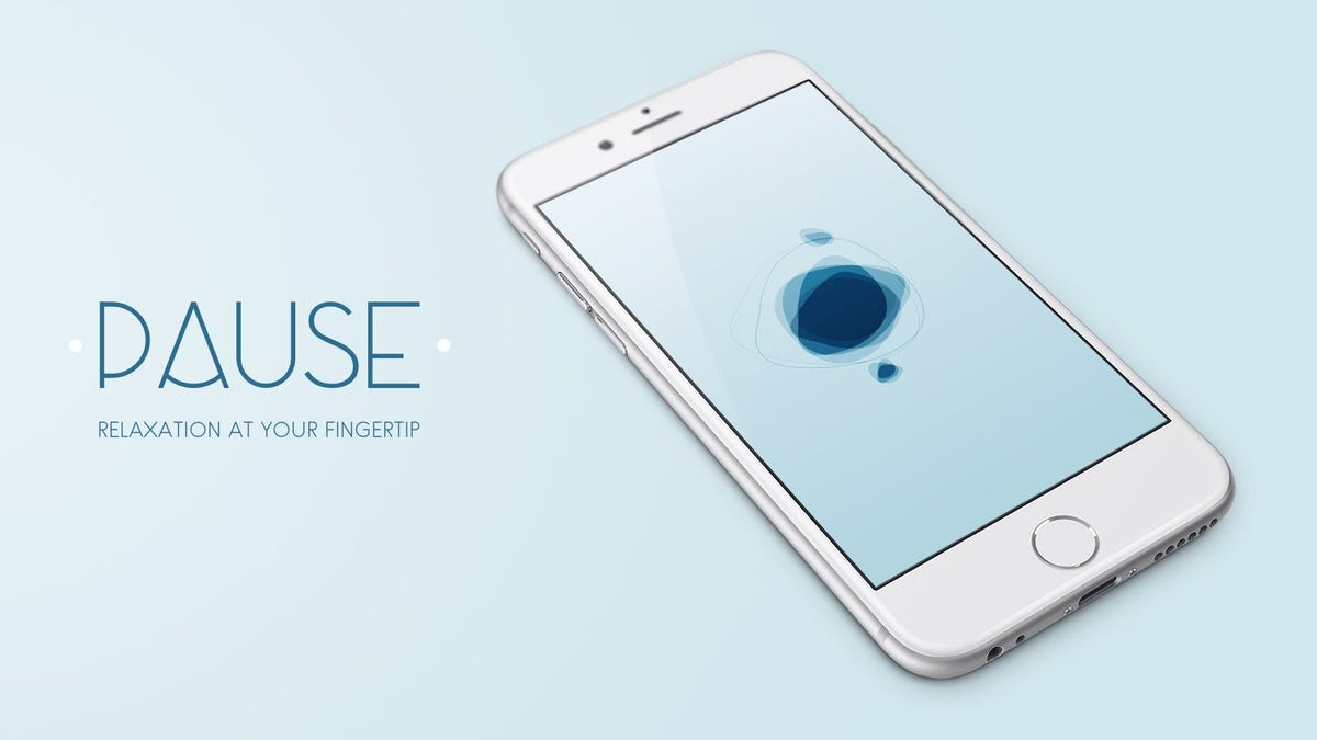 PAUSE Is a Simple Stress Relief and Relaxation Tool for iPhone