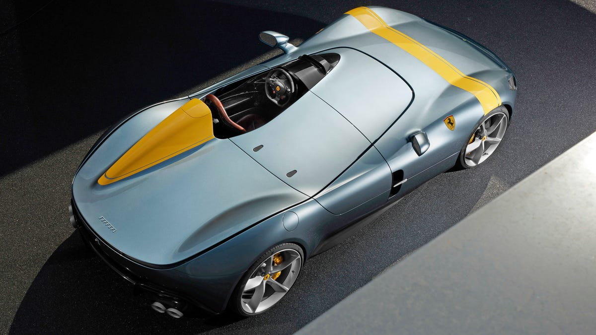 Ferrari\u0027s One,Seat Monza SP1 Looks Absolutely Amazing