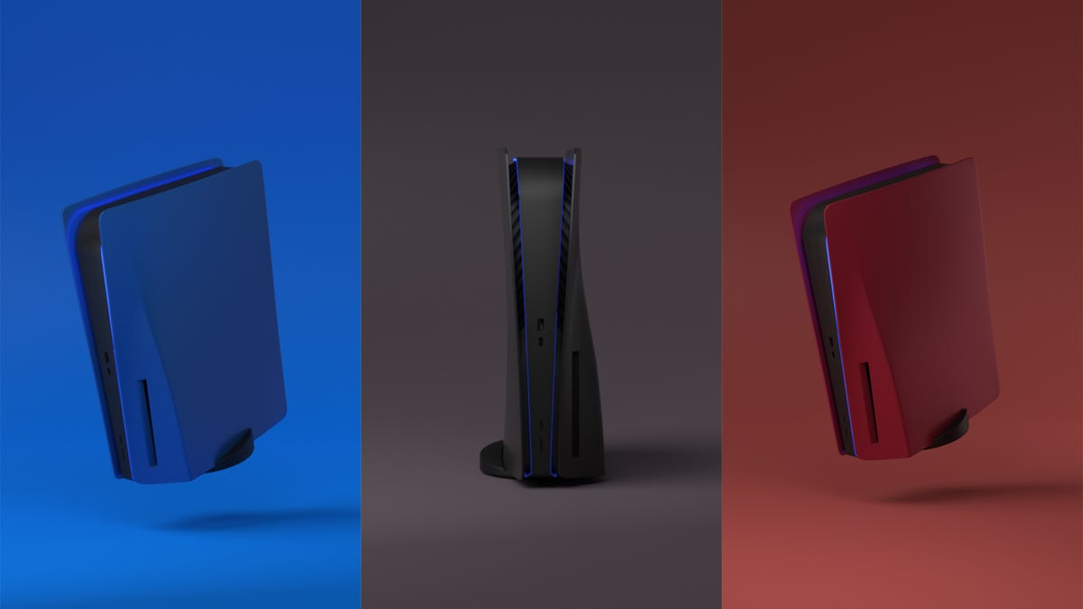 Sony Says No to People's Dreams of Colored Side Panels for the PS5