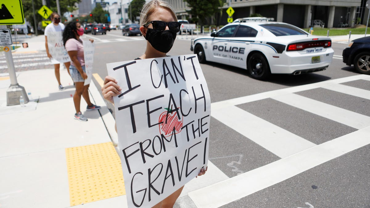 Covid Crisis Rocks Indiana School on Day One, Offering Grim Vision for Teachers Nationwide