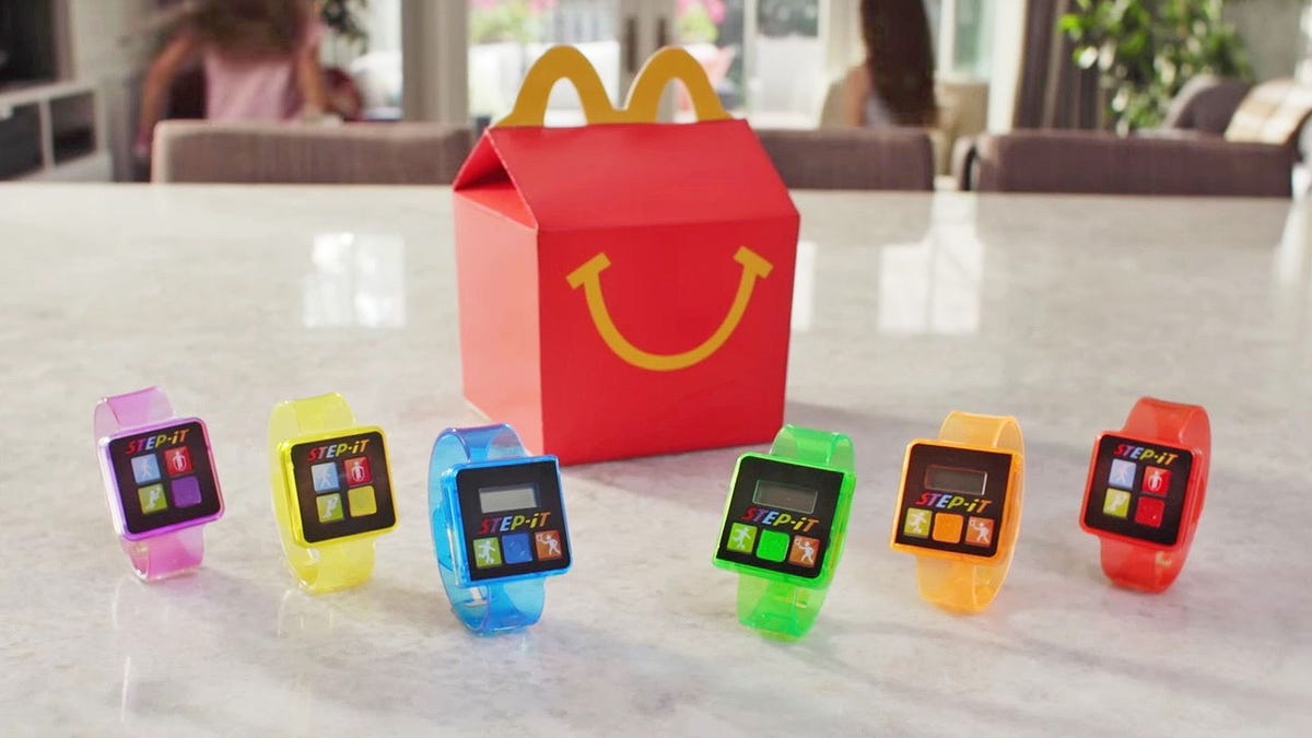 McDonald's Happy Meal Fitness Trackers Are Giving Kids Rashes