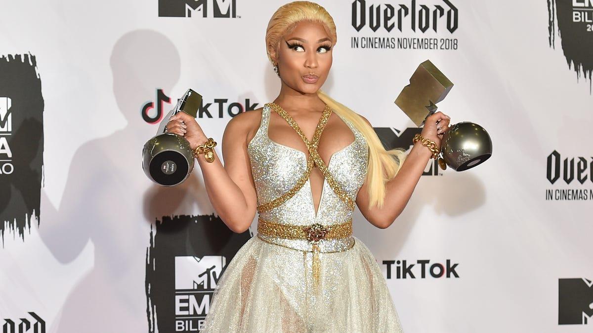 "Nicki Minaj explains last month's retirement tweet: ""It was really about my fifth album"""