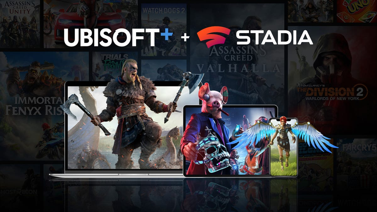 Ubisoft's Game Subscription Service Is Now Available On Stadia