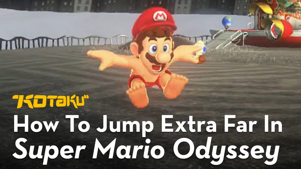 How To Jump Really, Really Far In Super Mario Odyssey