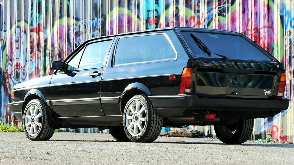For $4,800, Could This 1990 VW Fox Shooting Brake Have You
