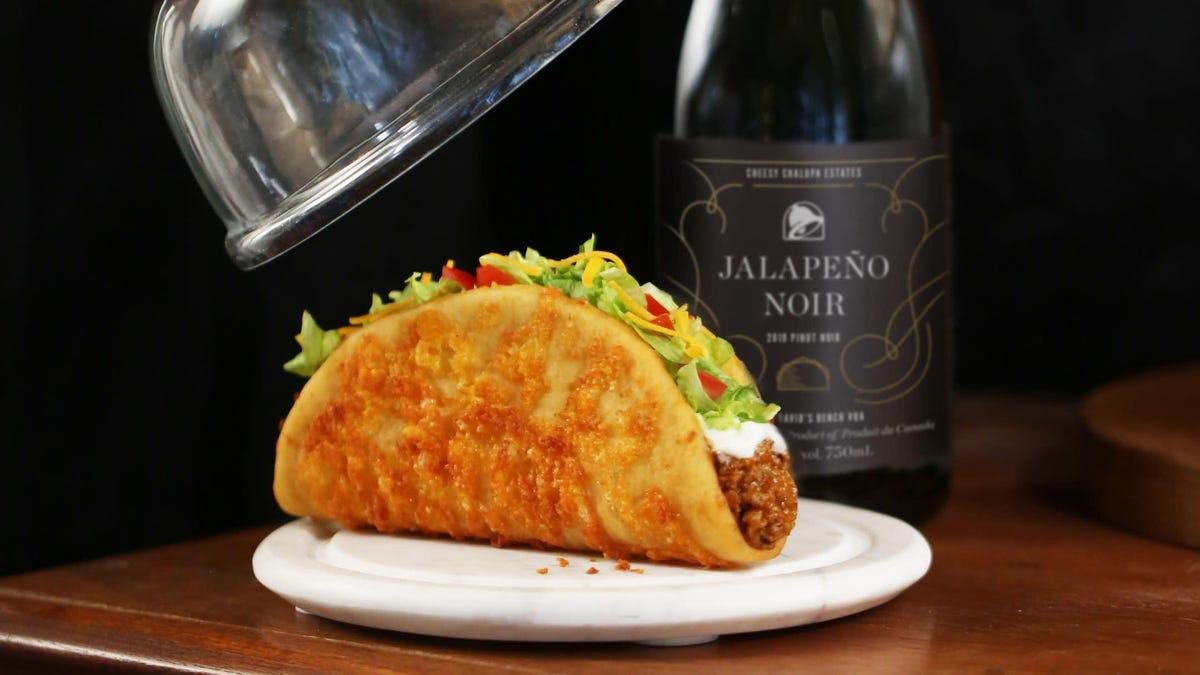 Taco Bell unveils new house wine, Jalapeño Noir