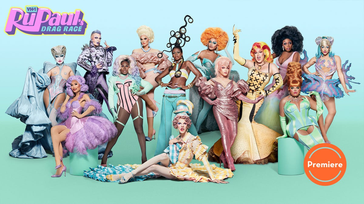 """RuPaul's Drag Race kicks off season 13 with goops and gags, courtesy of """"The Pork Chop"""""""