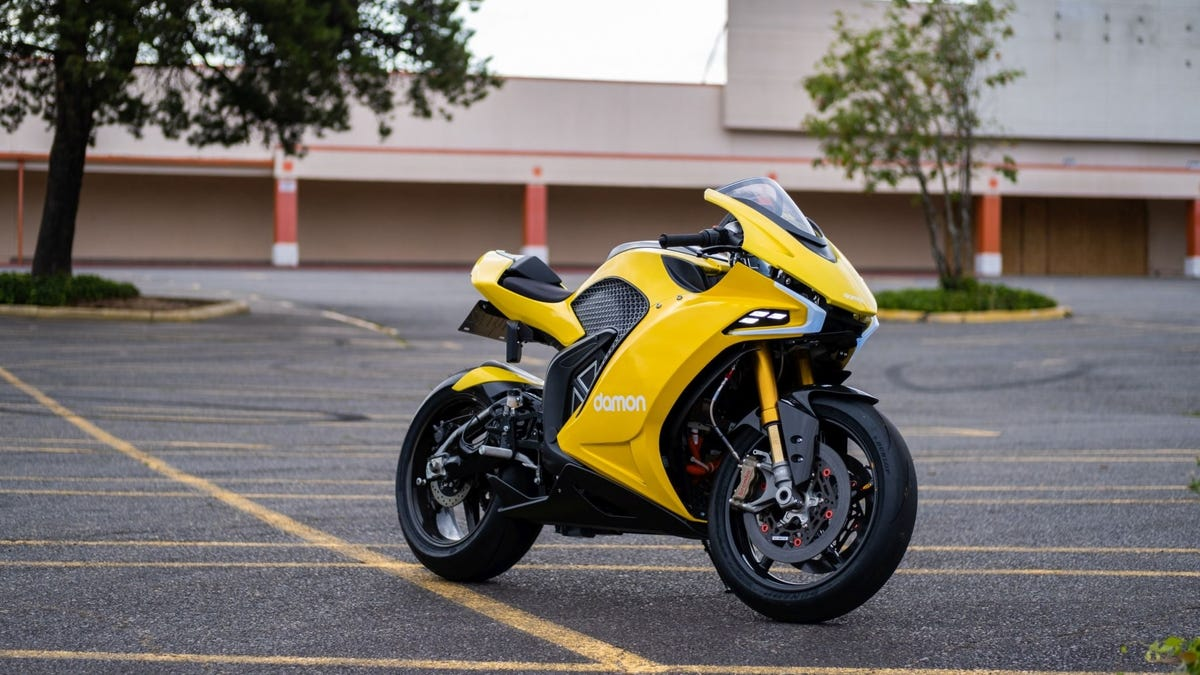This Electric Superbike Is A Generator You Can Ride
