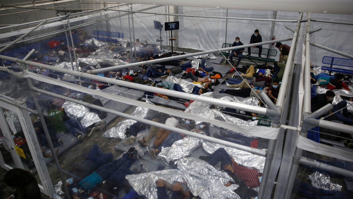 Border Facility for Unaccompanied Migrant Children Is at Least 700% Over Capacity