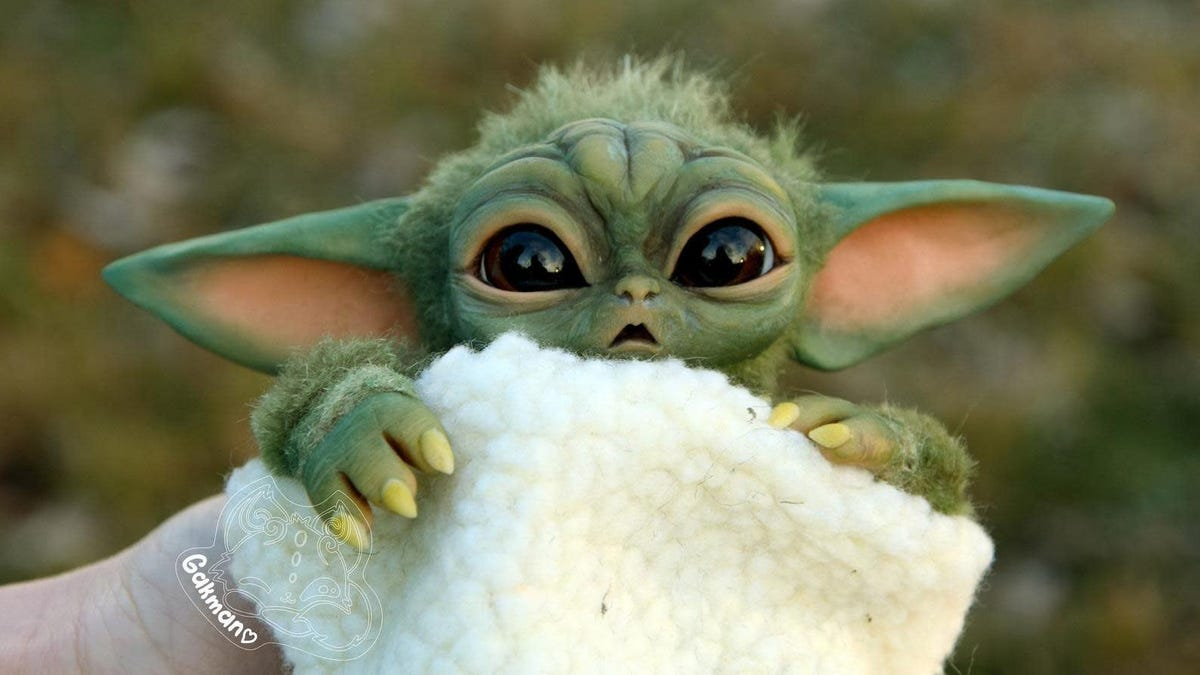 Of Course There's a 14-Month Waitlist for This $300 Unofficial Baby Yoda Toy