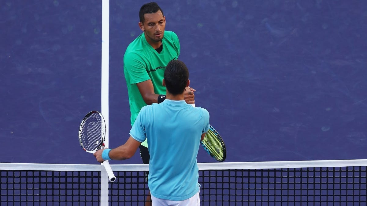 Novak Djokovic's COVID inanity makes you wonder ... if only Nick Kyrgios was this sharp on the tennis court - Deadspin