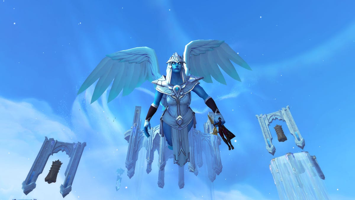 Grab My Head And Fly, World Of Warcraft Angel